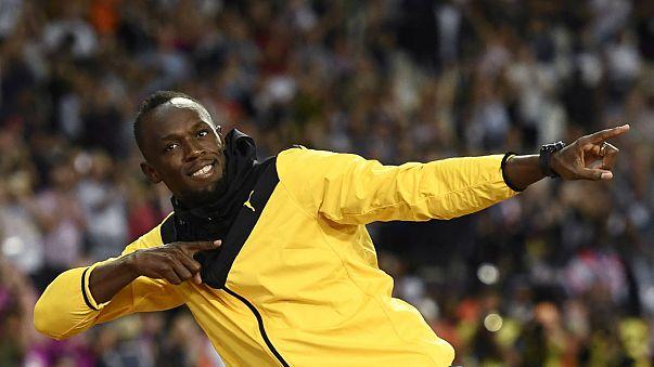 Atletizm Şampiyonası'nda Hüseyin Bolt'dan hüzünlü veda