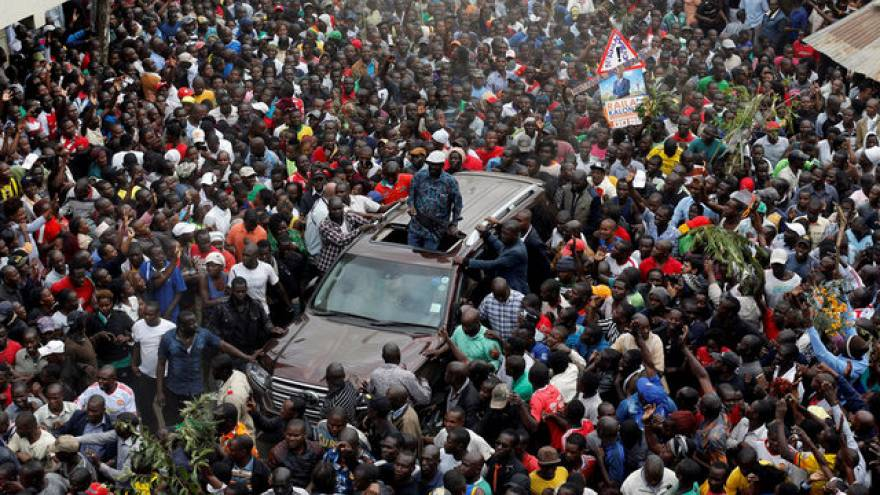 Kenya: Odinga chiede sciopero lunedì