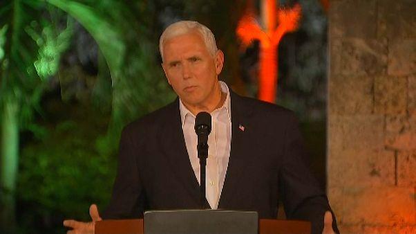 Mike Pence condena de forma clara el ataque en Charlottesville