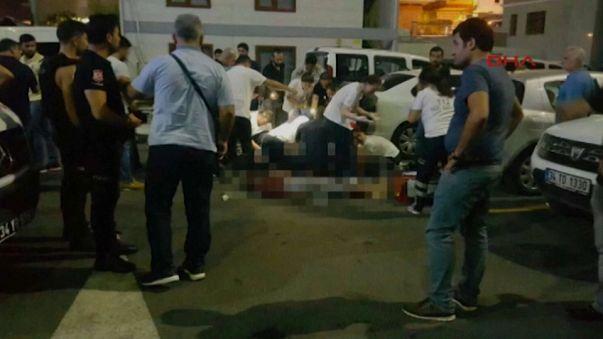 Убийство полицейского в Стамбуле