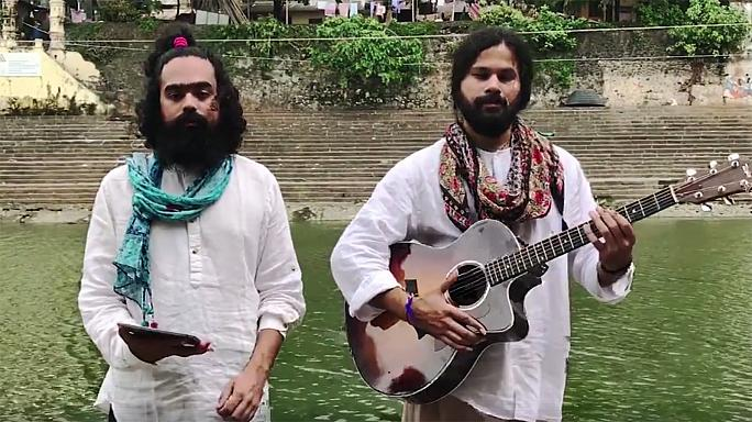 Mash-up of India and Pakistan's national anthems goes viral