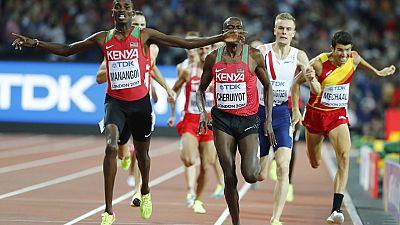 Le Kenya, l'Éthiopie et l'Afrique du Sud font briller l'Afrique aux mondiaux d'athlétisme