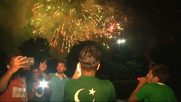 Feiern in Pakistan: 70 Jahre Unabhängigkeit