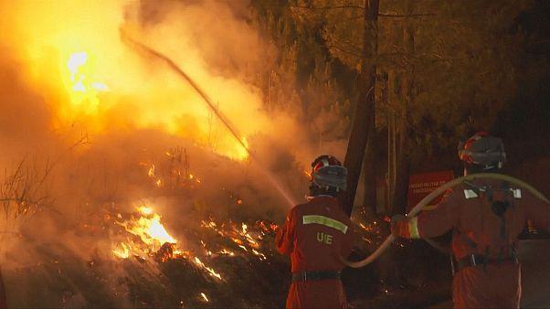 Incendies au Portugal
