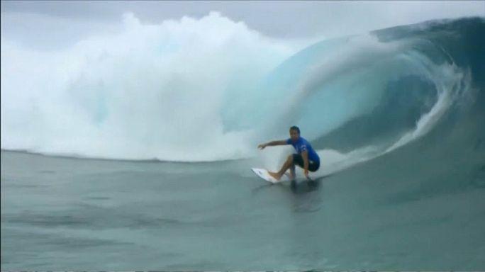 World Surf League: stunning victory in Tahiti