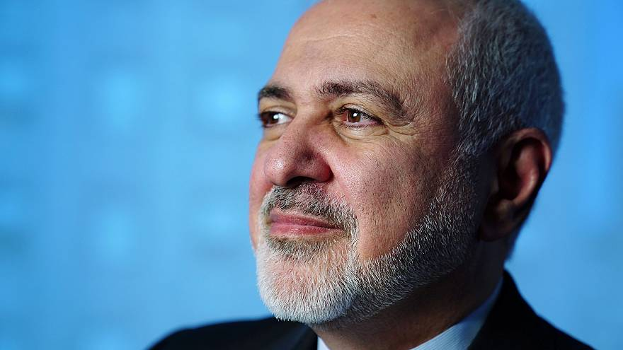 Image: Iran's Foreign Minister Mohammad Javad Zarif poses for a portrait fo