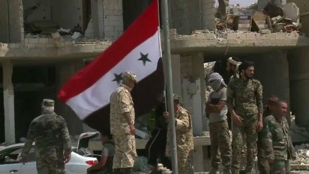 القوات الحكومية السورية تستعيد السيطرة على مدينة السخنة