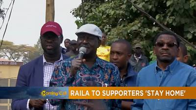 Relative calm in Nairobi, amid stay-at-home calls from Odinga [The Morning Call]