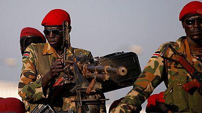 Heavy gunfire erupts in South Sudan