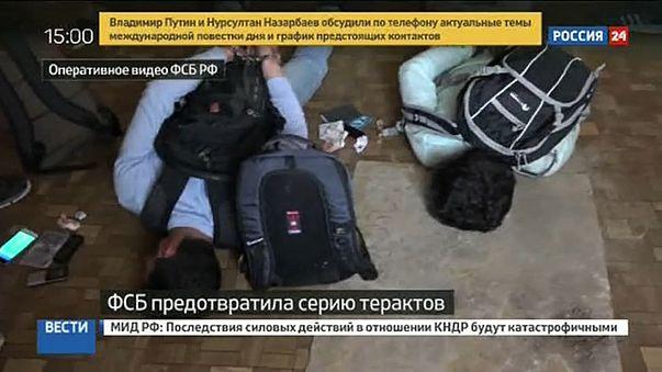 Terroristákat fogtak el Oroszországban