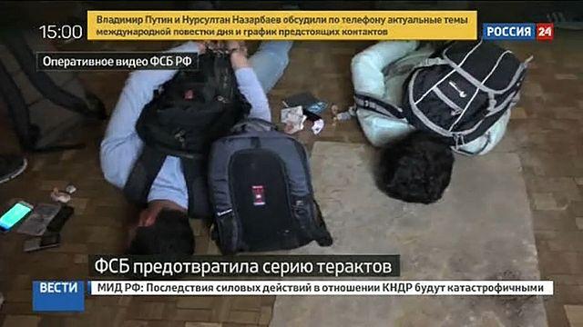 Moskova'da saldırı hazırlığında olan 4 terörist yakalandı