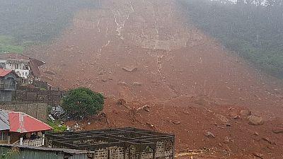 100s feared dead in Sierra Leone mudslide following heavy rains