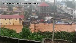 Fiume di fango travolge Freetown, oltre 300 morti in Sierra Leone