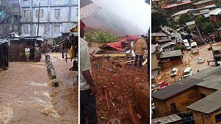 Photos: Sierra Leone mudslide claims over 300 lives, over 2,000 homeless