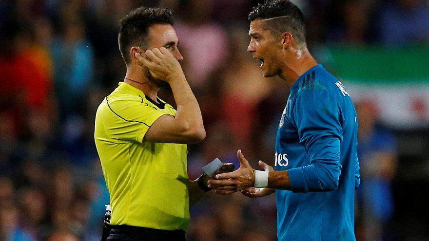 Supercoppa spagnola: 5 giornate di squalifica per Cristiano Ronaldo