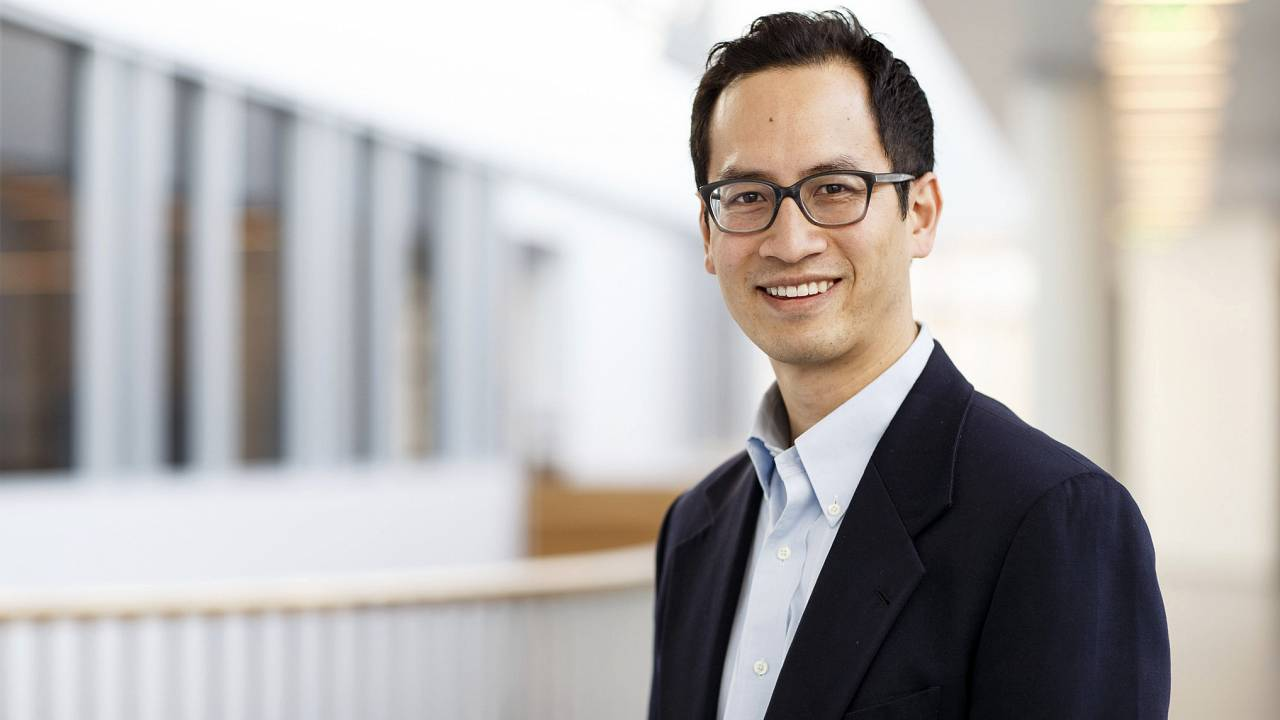 Image: Dr. Edward Chang studies how the brain produces and analyzes speech.