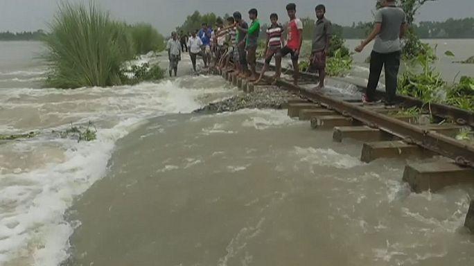 Inundações mortais atingen sudoeste asiático
