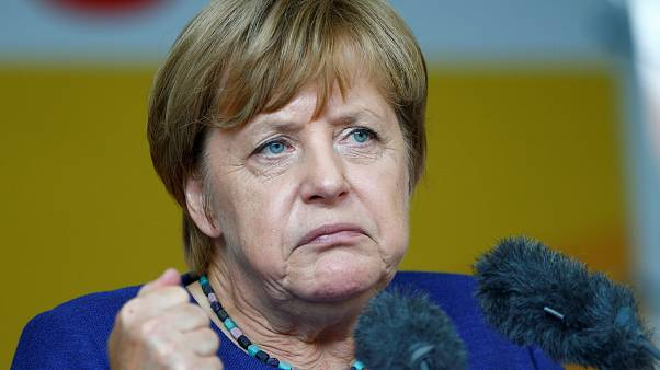 Angela Merkel: Wahlkampf mit Pfiffen