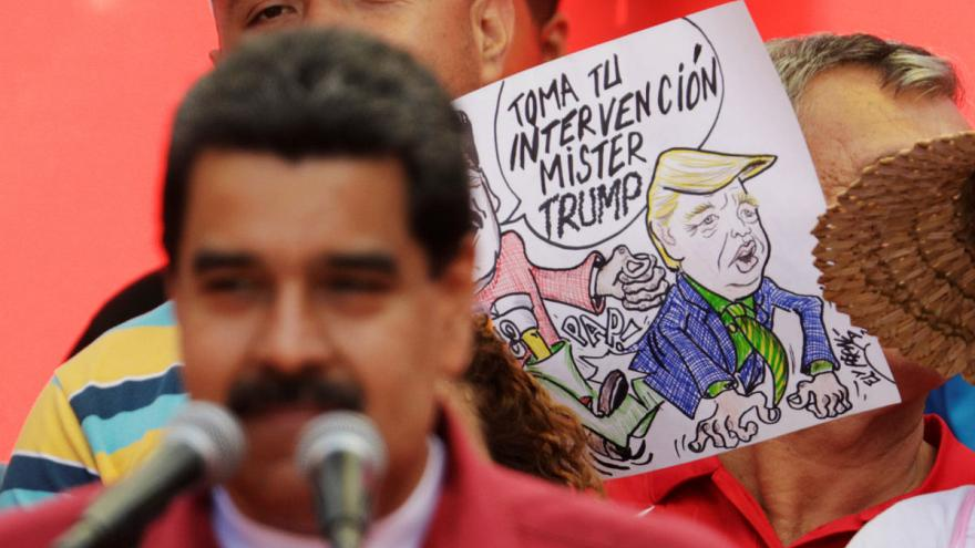 "US-Militärdrohung: ""Trump go home"", schallt es aus Venezuela"