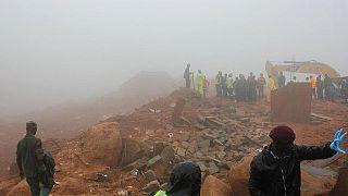 Steigende Opferzahlen nach Erdrutsch in Sierra Leone