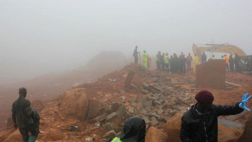Sierra Leone'deki toprak kaymasında en az 300 kişi hayatını kaybetti