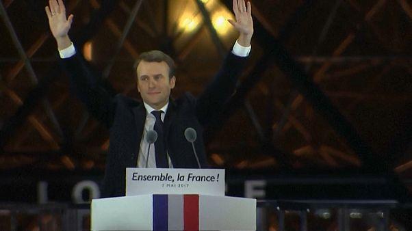 Acabou estado de graça de presidente francês