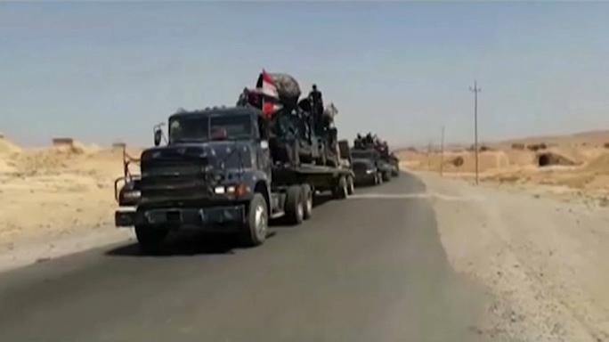 Telafer'de IŞİD'e havadan darbe