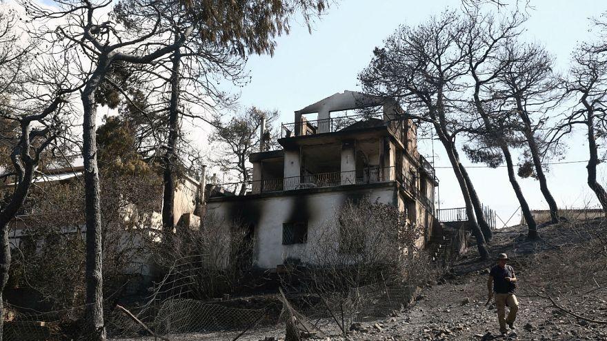 Brände an der Ägäis