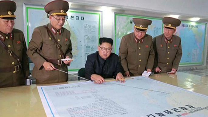 China apela à contenção dos EUA e da Coreia do Norte
