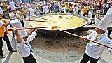 Belgio: l'omelette gigante del 15 agosto