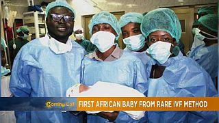 Le premier bébé africain né grâce à la technique peu coûteuse et rare FIV [Hi-Tech]