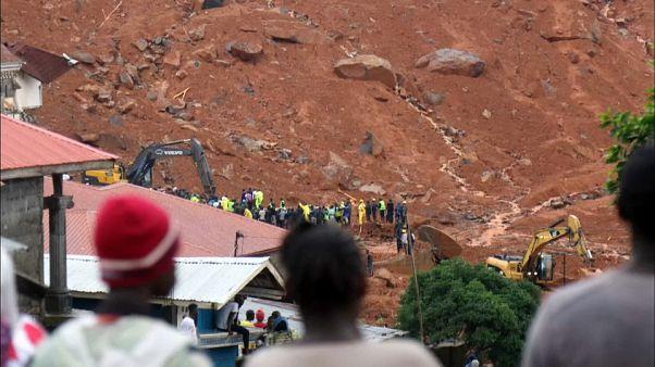 Número de vítimas na Serra Leoa sobe para perto de 400