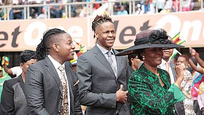 Mugabe's wife returns to Zimbabwe after assault accusation
