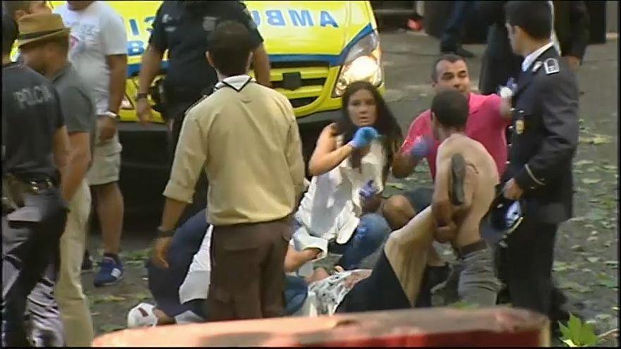 La fiesta religiosa de Madeira se tiñe de luto con 13 muertos y 50 heridos