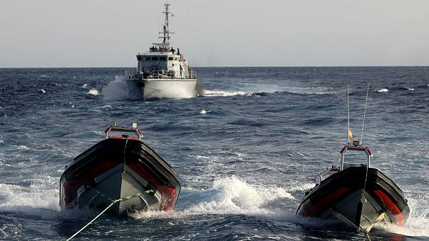 Migrant rescue boat threatened by Libyan coastguard in international waters