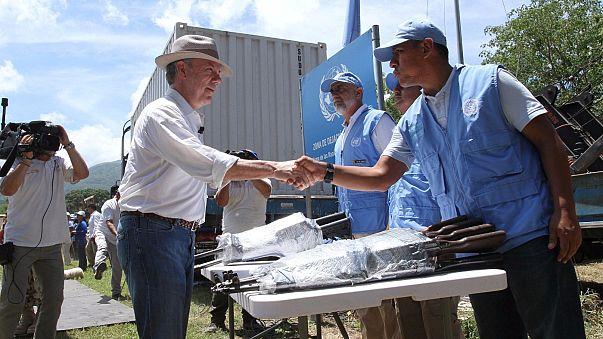 Colombia: deposte ultime armi Farc, finisce conflitto durato 53 anni