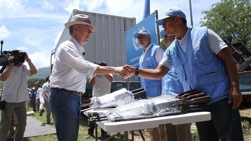 Concluído desarmamento das FARC