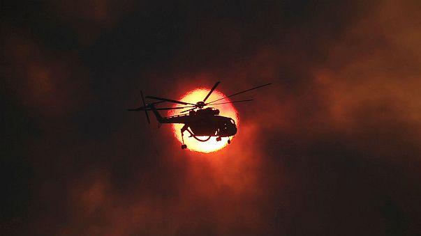 Греция не справляется с пожарами
