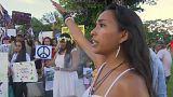 Guam Adası'nda halk endişeli
