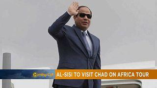 Le président égyptien Abdel Fattah Al Sissi en mini tournée africaine