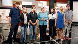 """4 YouTuber treffen die Kanzlerin: """"Merkel wie im TV"""""""