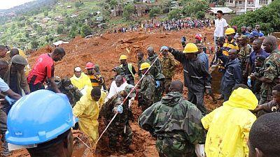 Sierra Leone mudslide deaths hitting 400: chief coroner confirms
