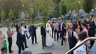 تركيا تلم شمل عريس من غزة وعروس من الضفة الغربية