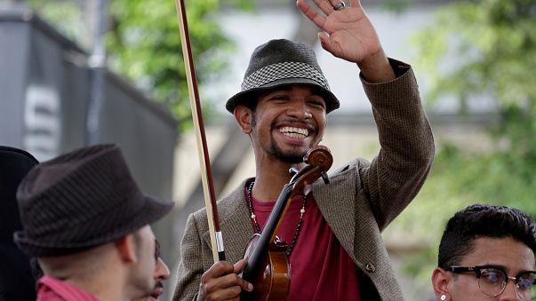 Liberado Wuilly Arteaga, el violinista de las protestas de Venezuela