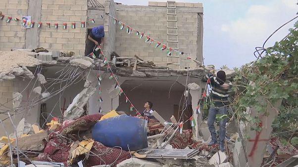 Lerombolták a késsel támadó palesztin otthonát