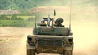 Japanisch-amerikanisches Militärmanöver