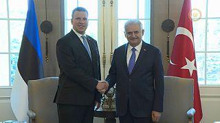 Avrupa Birliği Dönem Başkanı Juri Ratas Türkiye'de