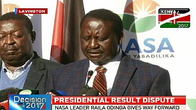 Kenya opposition to challenge re-election of Uhuru Kenyatta in court