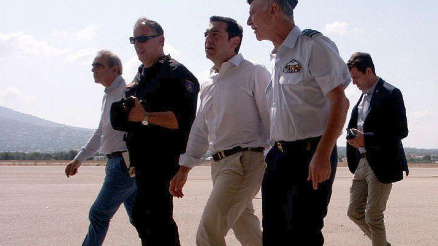 Ελλάδα: Υπό έλεγχο τα πύρινα μέτωπα στην ανατολική Αττική