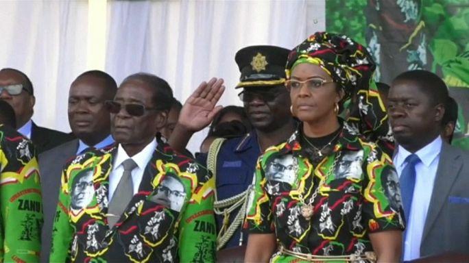 Grace Mugabe busca imunidade diplomática depois de alegada agressão
